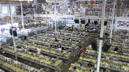 At Amoeba Records in California, more people are selling CDs than buying these days.